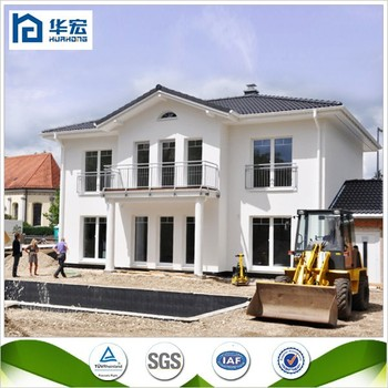 New Design Residential Two Floor Prefabricated House