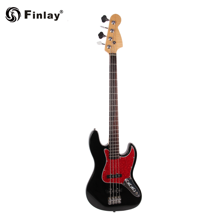 Guangzhou Factory Maple Global Cheap OEM Electric Bass Guitars
