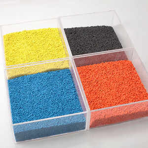 China Best Selling EPDM Rubber Granules for Sport field and playground