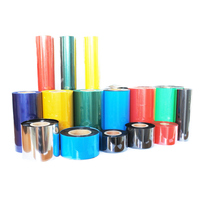 High quality colourful thermal transfer ribbon premium wax