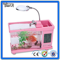 Buy Multifunctional USB Desktop Aquarium Mini aquariums in China ...