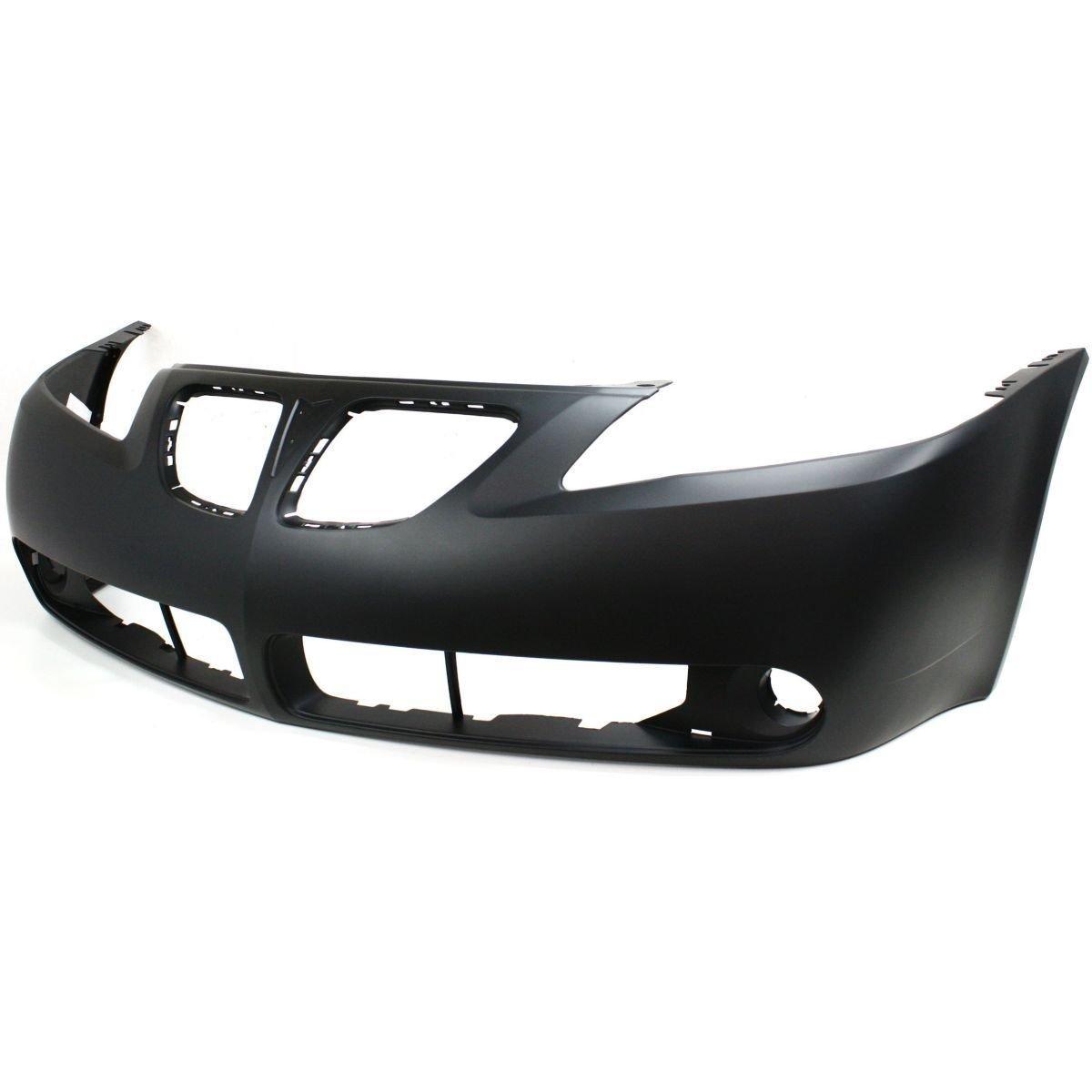 Diften 105-A1852-X01 - New Bumper Cover Facial Front Primered Pontiac G6 2009 2008 GM1000731C 19151158