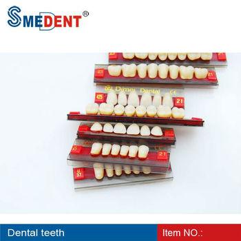 Denture Acrylic Resin Teeth/acrylic Teeth Shades