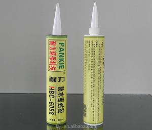 Butyl rubber Waterproof- fluid silicone Sealant---Pass EU RoHs