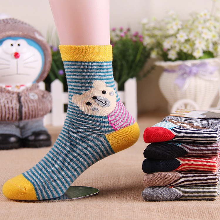Warm soft cotton baby boys girls socks baby clothing accessories booties floor infant socks homewear 3pair
