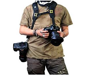 Professional Shooting Quick Release Double Shoulder Belt Neck Strap for Canon Nikon Olympus Pentax Sony DSLR Digital SLR Camera