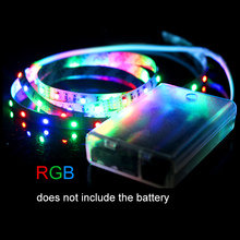 High brightness font b Battery b font Flexible font b LED b font Strip 3528 60LEDs