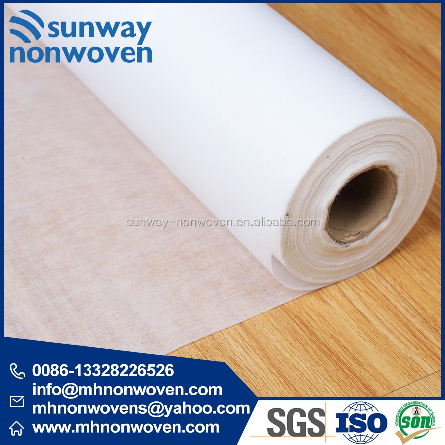 Chemical Bonding Raw Material Nonwoven Fabric for Embroidery Backing Use