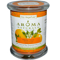 Clarity Orange & Cedar 100% Natural Soy Essential Oil Candle