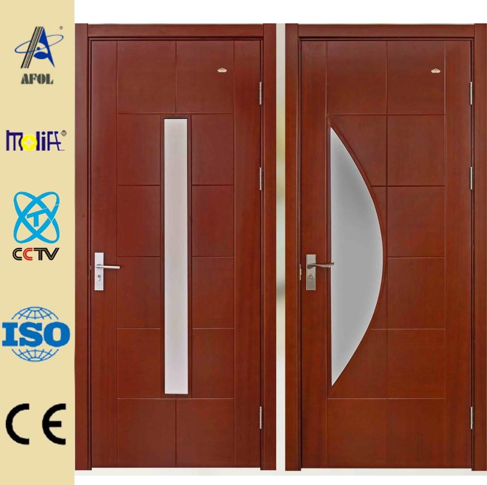 Zhejiang afol dise os maquetas de media luna de cristal for Disenos de puertas en madera y vidrio