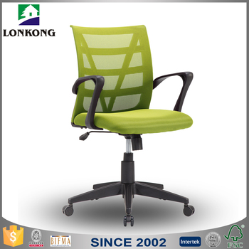 Optional Color Visitor Chair,Office Swivel Chair With Armrest ...