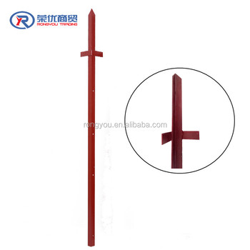 Chinese Imports Wholesale Angle Post For Garden Fencing