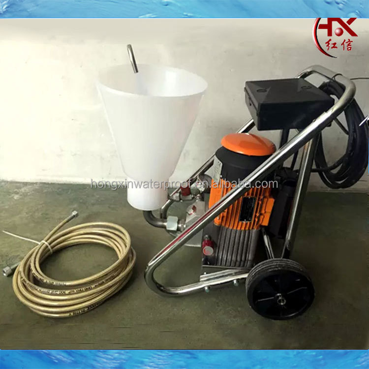 HX-4200 Electrical Polyurethane Spray Foam Machine Chemical Grouting Pump