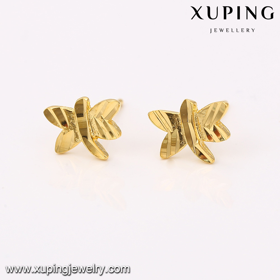 elegant long gold earrings earring fea hooks plated