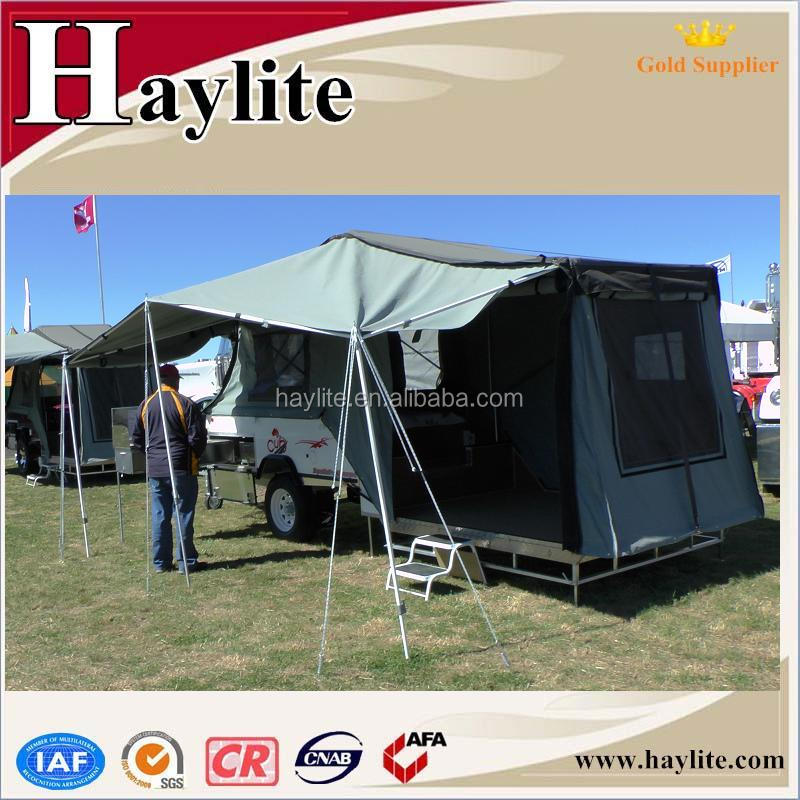 trailers will awning track a camper rv diy awnings hacks that happy hanger for you hard make