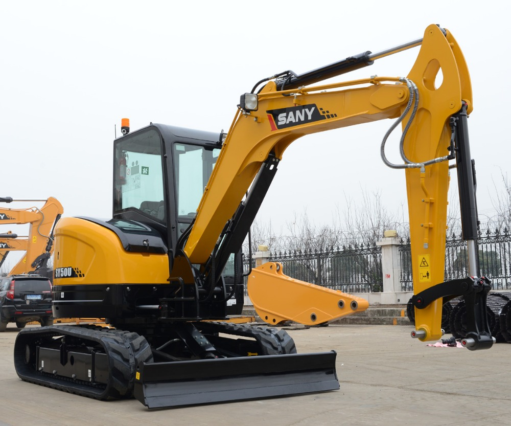 sany sy50c m quinas de 5 toneladas peque a mini excavadora