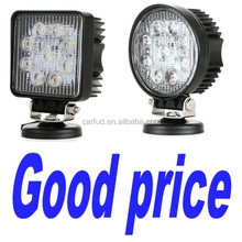 "Factory direct accept paypal 4"" 27w led working light 4 inch 27 watt led off road light 4 inches 27w led work light"