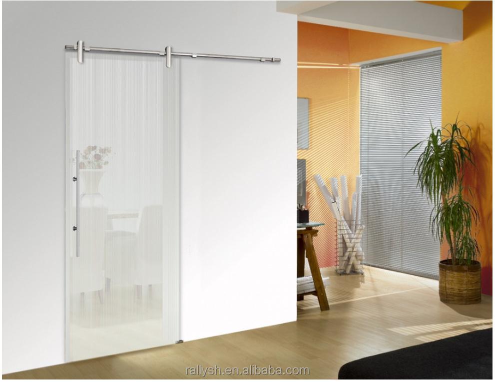 innenraum gro e rahmenlose glas schiebet ren t r produkt. Black Bedroom Furniture Sets. Home Design Ideas