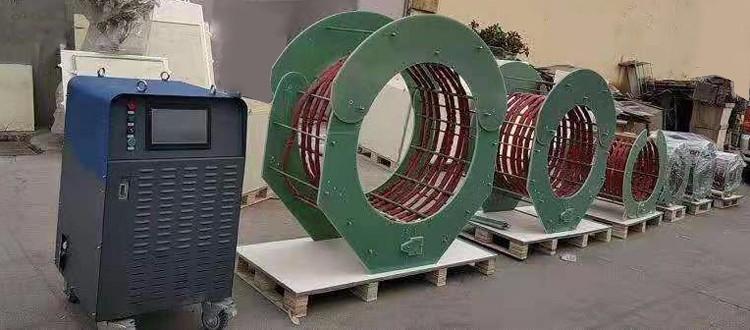 60KW oil pipe preheat machine heat treatment control equipment review #1013 2