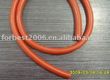 hot sale orange red silicone tube used in machine