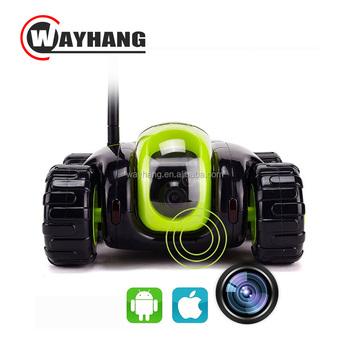 Wifi Rc Car Remote Robot Tank Camera Car Support Smart Phone Remote