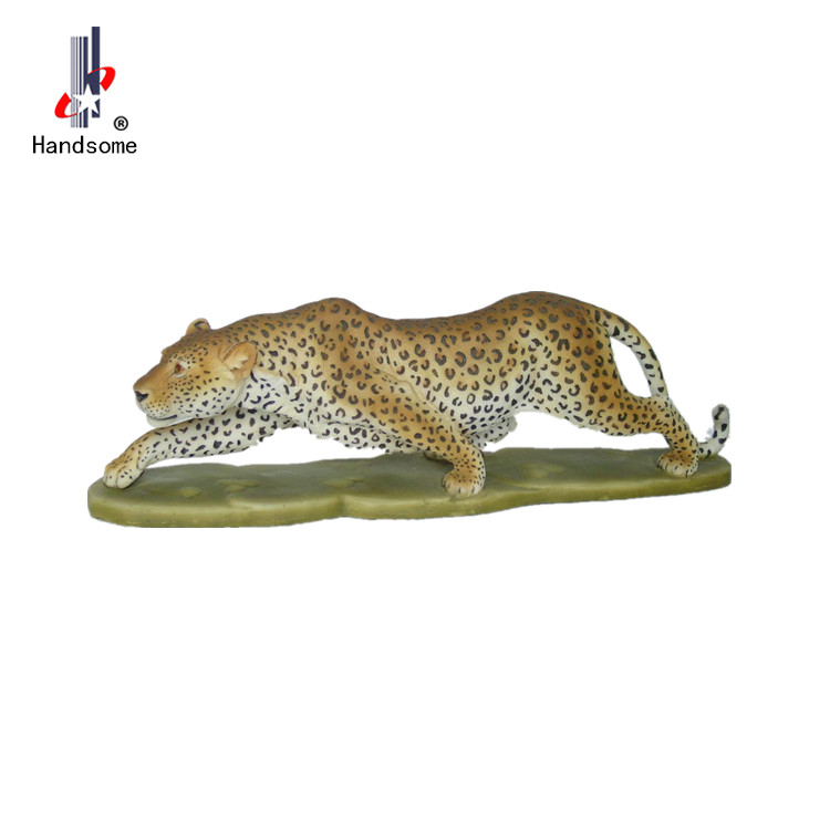 Hot-Selling Resin Popular Custom life size resin tiger home deco resin animals
