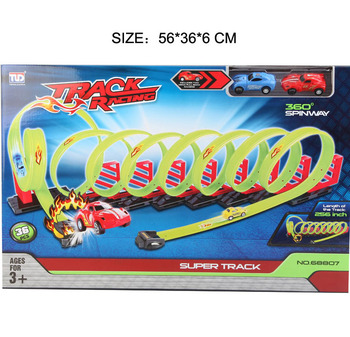 Toy Pull Back Track Racing Car Track Race Car 360 Degree Spin Way - Buy  Track Race Car,Track Racing Car,Pull Back Track Racing Car Product on