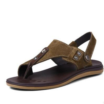 d825106b4 2019 African Arabic Pakistan fashion Summer hot Italian new style confort  beach outdoor casual men leather