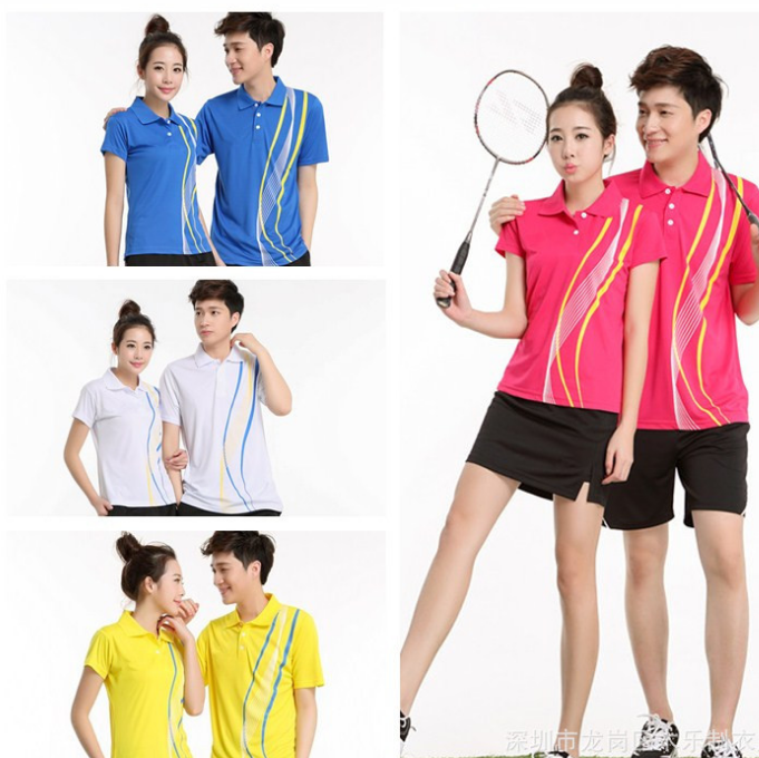 Fashion design dry fit badminton jersey,badminton shirt,women badminton wear