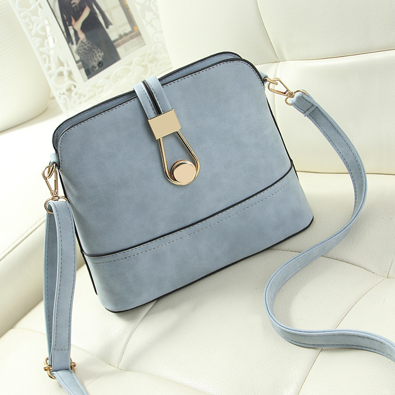 780bb39c2c6 Women Bag Handbags Over Shoulder Crossbody Sling Summer Leather Messenger  Scrub Shell Lock Fashion Small Ladies Luxury Brand