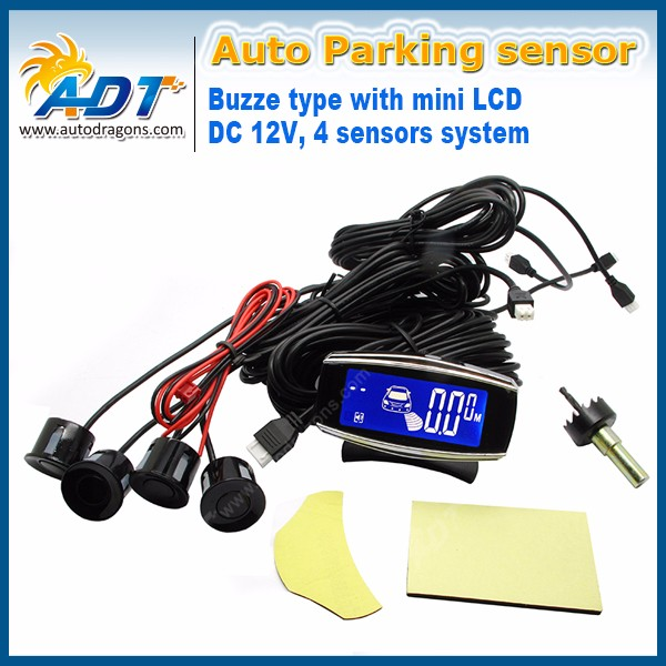 Parking sensor with mini LCD Display