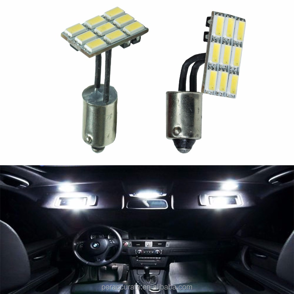 PA Taiwan Wholesaler Flexible 9 SMD 5630 Panel LED with Ba9s Base For Car Mirror Light interior dome reading Light Bulb