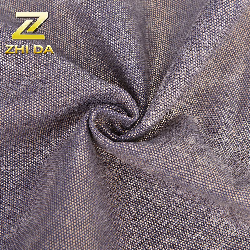 Discharge Print bronzing sofa eqyptian cotton fabric wholesale