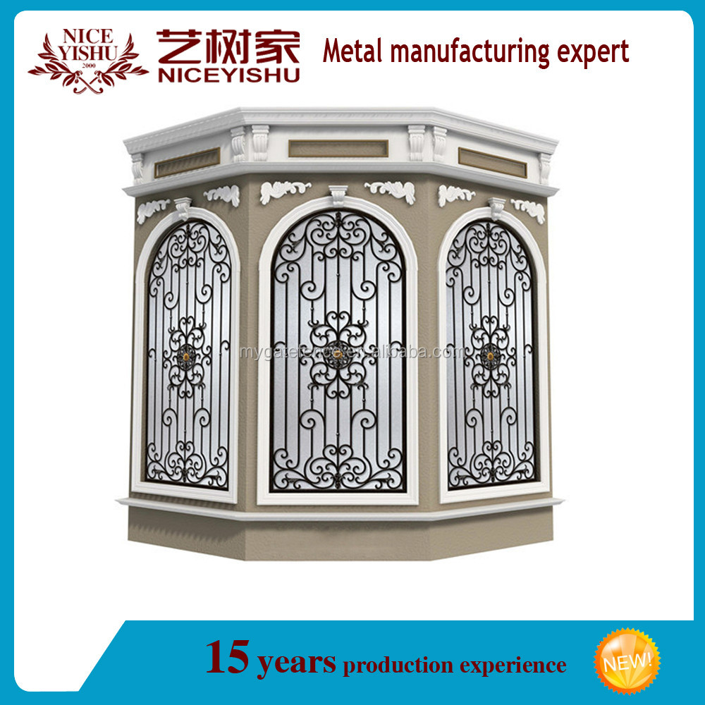 China Cheap Modern Simple Iron Window Grills Designs For