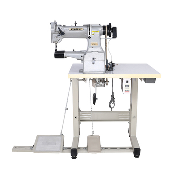 used industrial machines cylinder bed compound feed leather sewing machine wholesale