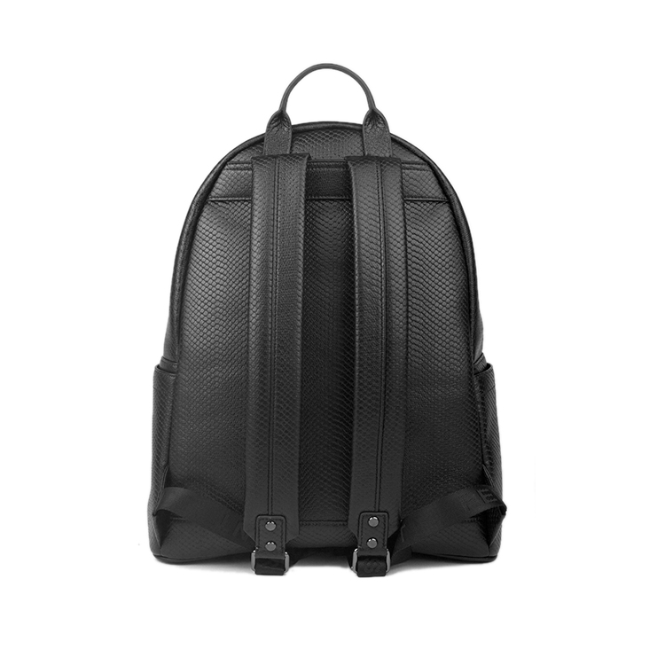 1BP0901 Classic PU Leather Backpack Bag Stylish Laptop Backpack for College Girls or Boys