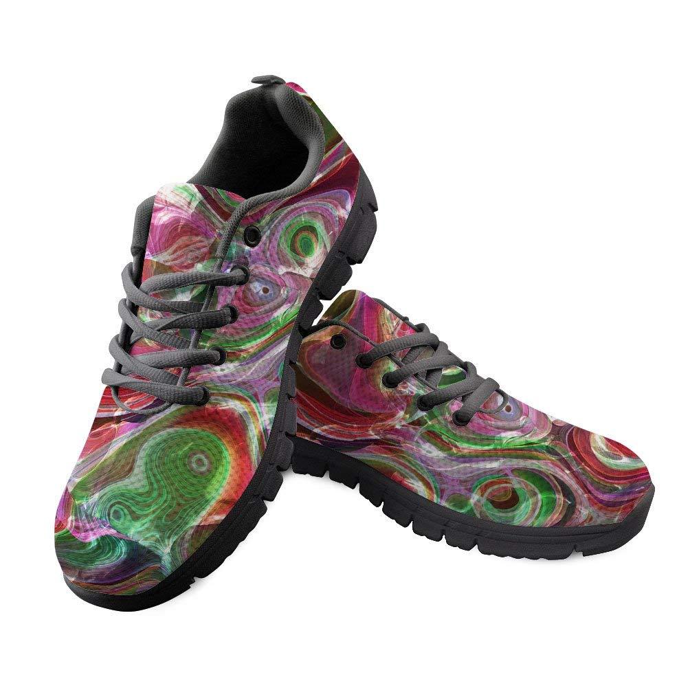 5331f9f9bdb Get Quotations · DeePrint Custom Design Mens Tennis Shoes Colorful Sport  Shoes