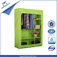 MF-1606 foldable fabic hanging clothes closet for bedroom