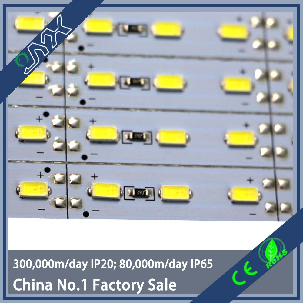 high quality factory price durable aluminum 5730 led bar light with rigid pcb past CE FCC