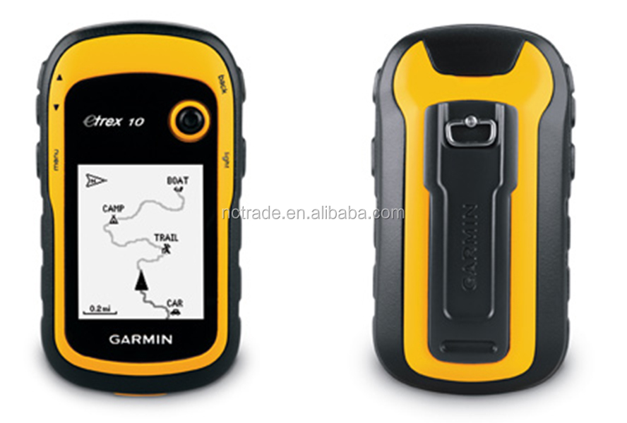 Garmin eTrex10 handheld gps with 10000 points 100 saved tracks
