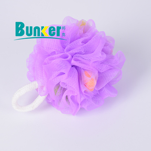Large nylon mesh pouf net exfoliating bath sponge