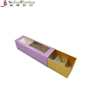 Customized Recyclable Wholesale Kraft Paper Cardboard Cookie food Gift Box with Dividers
