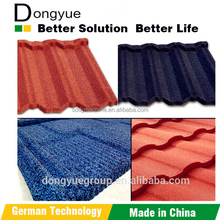 European standard Aluminium Zinc Roofing Sheets/ good quality Stone Coated Metal Roof Tile