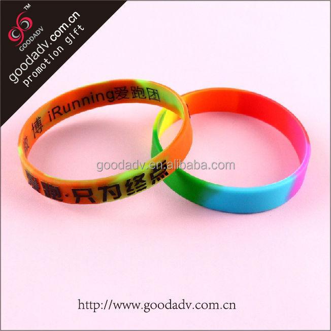 cheap custom bracelets fashion bracelet silicone bracelet