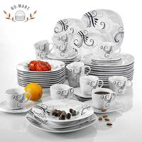 New Style Germany Dinner Set Porcelain For Breakfast