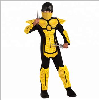 halloween costume yellow bullet proof armor costume