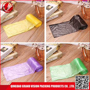 Qingdao Plastic Disposable Car Trash Bag Cheap Garbage Rubbish Bags