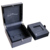 Carbon fiber veneer High gloss finish wooden watch gift box for man watch boxes