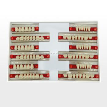 German Raw Material Dental Supply Artificial Acrylic Resin Teeth ...