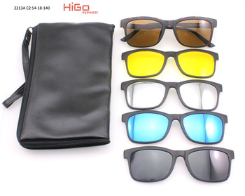 16331a2471 2017 fashionable wholesale china magnetic clip on sunglasses glasses frame